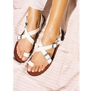{new}FREE PEOPLE Millie vegan leather sandal 16619